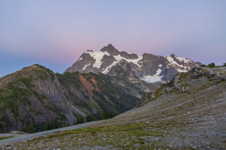 Heather Meadow的冰川火棱 | Mt Baker-Snoqualmie National Forest 游记