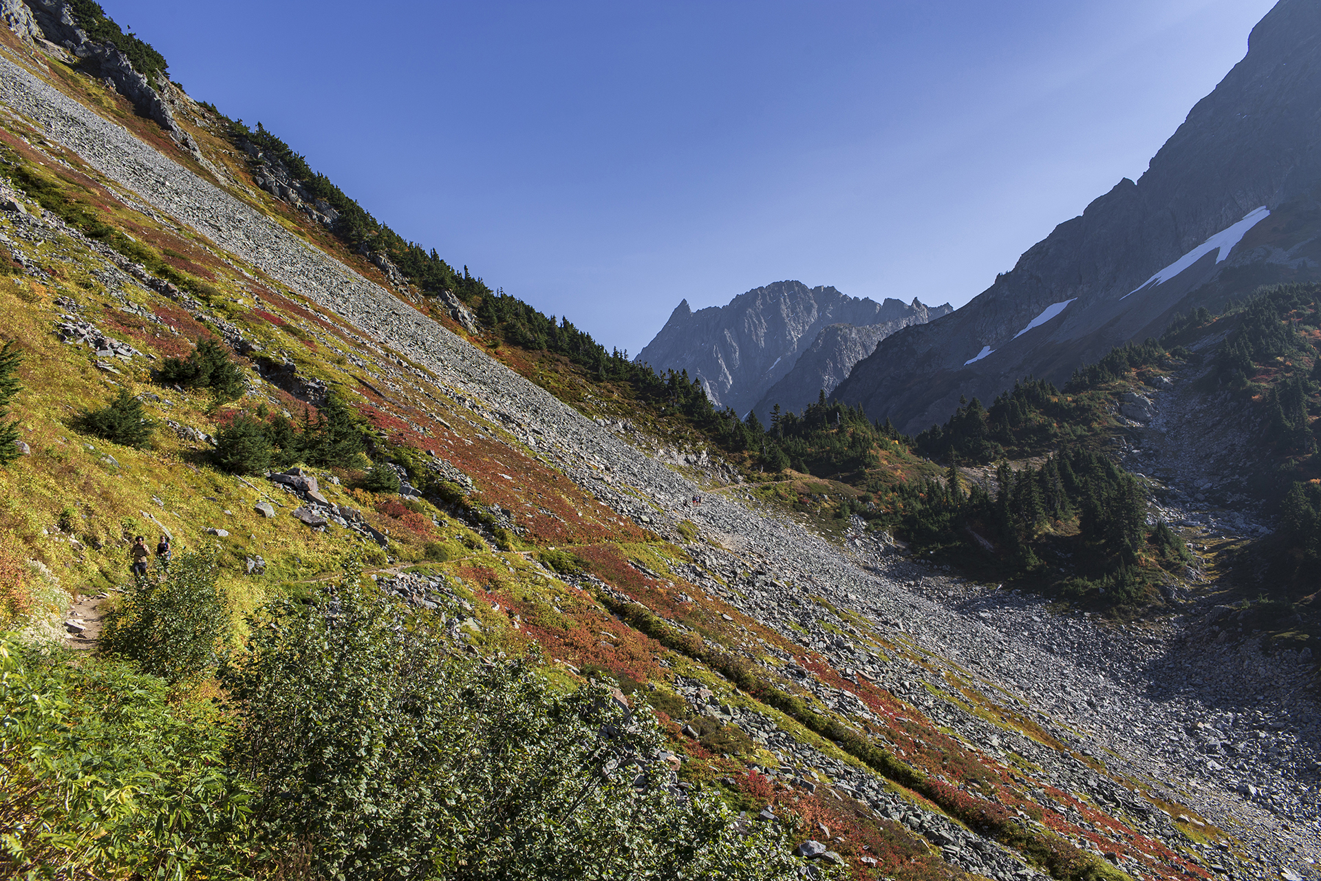 North Cascades追秋追进坑里 | 抛锚深山的求救指南